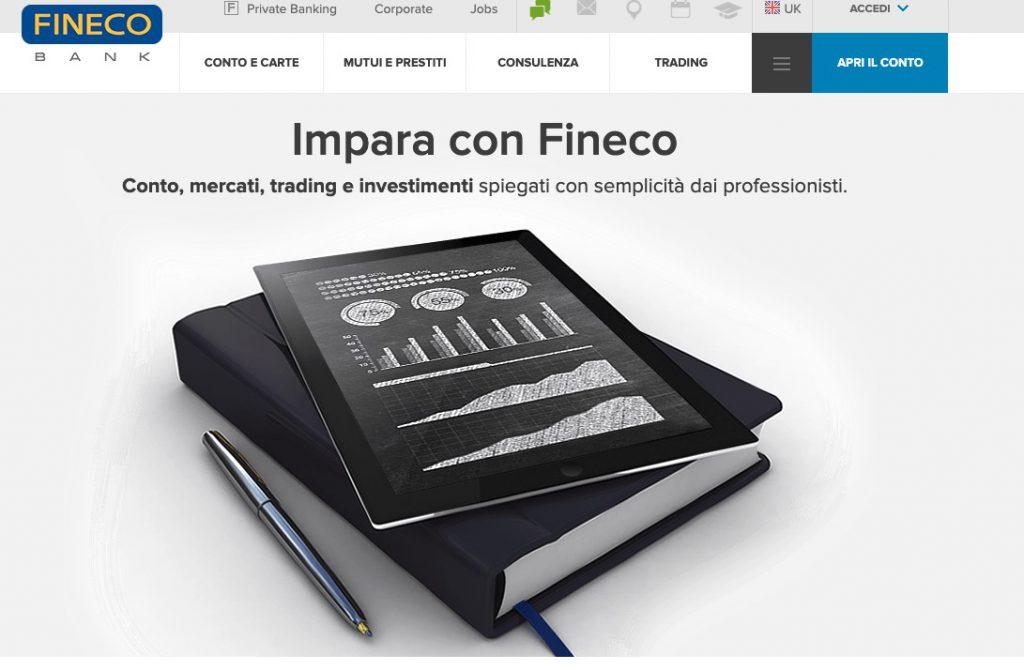 Fineco Trading Corsi